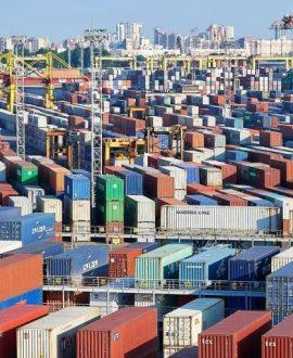 The container turnover of sea ports of the Russian Federation for 8 months of this year increased by 5.4%
