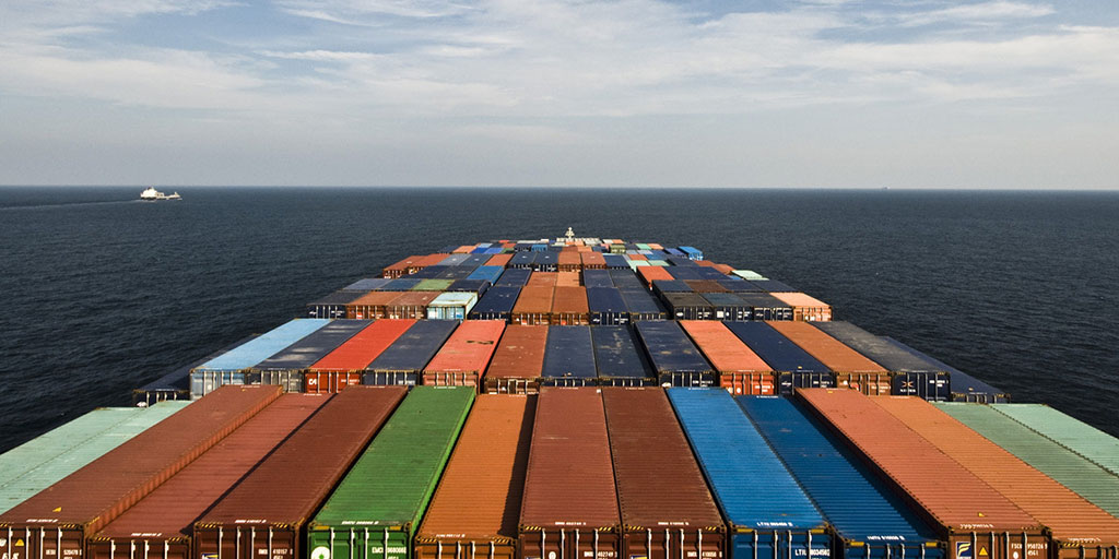 Sea freight rates for container carriers continue to fall