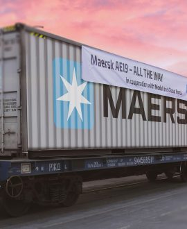 New Maersk route to Asia bypassing the Suez Canal